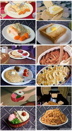 Studio Ghibli Food in Real Life