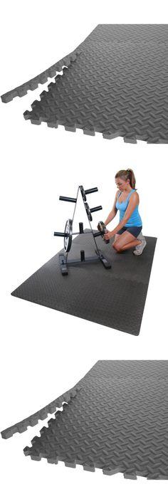 Exercise Mats 44079: 24 Sq Exercise Floor Mat Fitness Puzzle Rug Gym ...