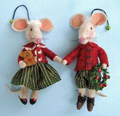 free doll patterns to sew   FELT MOUSE PATTERN - FREE PATTERNS