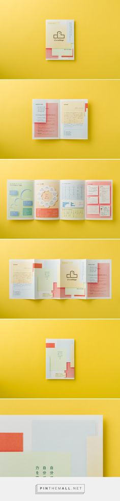 L's college : UMA / design farm. - a grouped images picture - Pin Them All Dm Poster, Poster Layout, Print Layout, Leaflet Layout, Brochure Layout, Brochure Design, Collateral Design, Graphic Design Branding, Typography Design