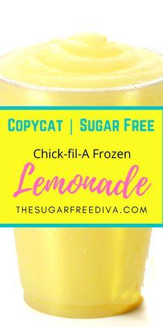Sugar Free Drinks, Sugar Free Desserts, Sugar Free Recipes, Low Carb Desserts, Low Carb Recipes, Cooking Recipes, Diabetic Desserts, Frozen Drink Recipes, Frozen Drinks