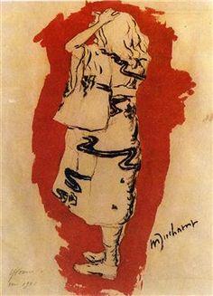 Yvonne (in kimono) - Marcel Duchamp, 1901.