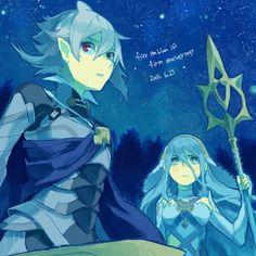 Fire Emblem Fates - Corrin and Azura