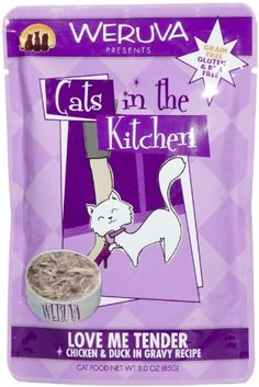 Weruva Cats in the Kitchen Love Me Tender  Cat Food Pouches 3 oz 8box -- Click on the image for additional details.