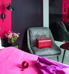 #excll #дизайнинтерьера #решения Цветовой дизайн интерьера the william hotel