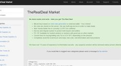 TheRealDeal black Marketplace Offers Zero-Day ExploitsSecurity Affairs