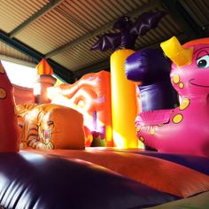 Bouncer Bouncy Castle at Paultons Park - A giant bouncy castle for children to play on until their hearts are content!  More Rides & Attractions: https://paultonspark.co.uk/attractions/for-all