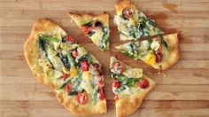 Rustic Springtime Vegetable Pizza Videos | [channel] How to's and ideas | Martha Stewart