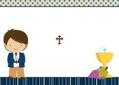 1b4d5eeae03cf 43 mejores imágenes de Tarjetas Primera Comunión Niños
