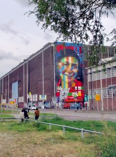 Wall paints, Muurschilderingen, Peintures Murales,Trompe-l'oeil, Graffiti, Murals, Street art.: Amsterdam - Netherlands