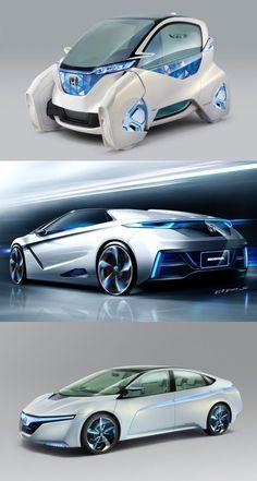 Nice Honda 2017: Honda EV / Hybrid Concept Cars (Tokyo Motor Show 2011) #Future #technology #futu...  Neo Futuristic Cars