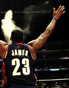LeBron James the best NBA player at the moment started from the bottom now he is here..