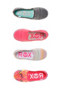 Your little one will win best dressed in these cute Roxy flats.