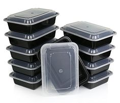 (10 Pack) Microwavable Food Container with Lid / Bento Box, Lunch Tray with Cover, Microwave Safe Plate, *BPA Free*, http://www.amazon.com/dp/B00O17TTRI/ref=cm_sw_r_pi_awdm_t86qub1FVJDSS