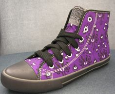 Haunted Mansion Wallpaper High Top Sneakers, these were limited edition back in 2009 and I still kick myself for not having purchased them!