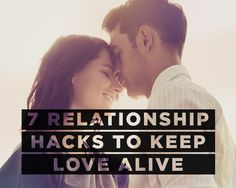 7 Relationship Hacks to Keep Love Alive  http://www.womenshealthmag.com/sex-and-love/how-to-keep-love-alive?cid=isynd_PV_1015
