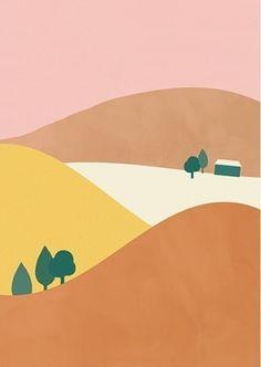 Olli Ella poster Country 29.7 x 42 cm