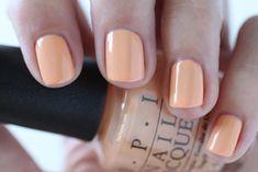 OPI Giveaway - OPI Retro Summer Collection Nail Summer Im Getting A Tangerine Medium Peach Cream Nail Polish