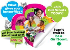 Find a girl scout troop to join