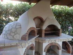 Barbecue multiuso in muratura per il giardino, creazione della Fazzone Camini/Homify.it