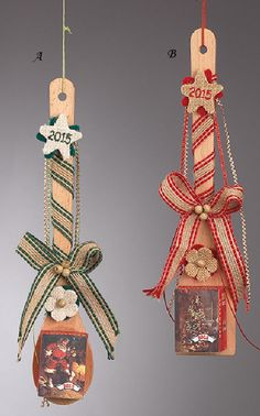 www.mpomponieres.gr Χριστουγεννιάτικο ημερολόγιο ποιημάτων πάνω σε ξύλινες…