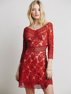 Free People Lacey Affair Dress at Free People Clothing Boutique