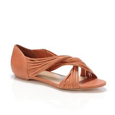 Luca mignon flat summer sandal. Not usually a fan of these types, but maybe they are growing on me...