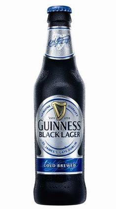 Cerveja Guinness Black Lager, estilo Schwarzbier, produzida por St. James's Gate, Irlanda. 5% ABV de álcool.
