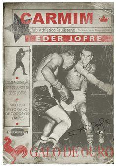 Eder Jofre - Conheça a camiseta comemorativa do grande ídolo mundial do boxe