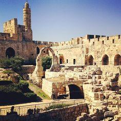 Tower of David (מגדל דוד) in שלם, ירושלים