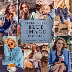 10 Mobile Lightroom Presets STREETSTYLE BLUE IMAGE Fashion Trend Instagram Presets,Blogger Lifestyle Presets,Lightroom Mobile & Desktop