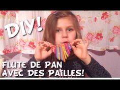 DIY: Fabrique Une Flute De Pan Avec Des Pailles! - Allo Maman Dodo