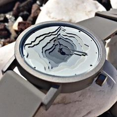Considered an earthwork on your wrist the Terra Time by @projectswatches is inspired by contour maps topographical models and stone quarry excavations. . . . #projectswatches #watches #womw #watchmaking #watchalert #watchlover #watchaddict #watchmania #watchoftheday #wristwatch #watchesofinstagram #watchporn #wristporn #reloj #watchnerd #watchgeek #wristshot #instawatch #watchismo #design #fashion