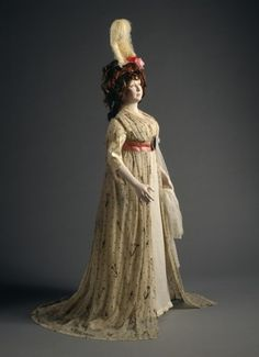 Dress 1790-1795 The Los Angeles County Museum of Art