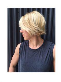 Short hair by Liz Burns #denver #shorthair short hair for women  Girls Gone WOD Podcast - Joy Parrish  Short hair strong women  CrossFit girls