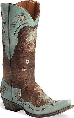 Old Gringo Ultra Vintage Bonnie Boots $509 - damn, I have good taste :-P
