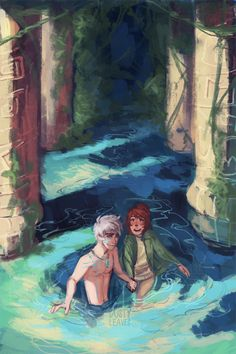 Atlantis gender bend! So cool I have this as one of my backgrounds! ;) >>>>>> He looks like Jack Frost! And the girl looks like Punzie.... Really.... If u look closer.....