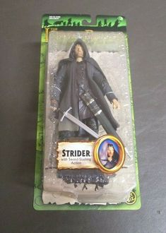 "Toybiz Marvel or NLP 6/"" Lord of the Rings LOTR and Hobbit Action Figures"