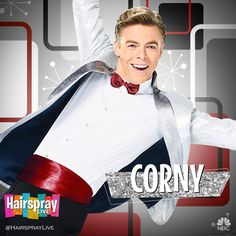 (17) Hairspray Live! (@HairsprayLive) | Twitter 07Dec16 - Hey there, Teenage Baltimore! It's your own Corny Collins, @derekhough! #HairsprayLive