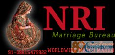 NRI NRI NRI MARRIAGE BEUREAU 09815479922 INDIA