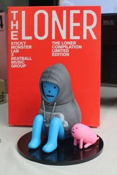 The Loner Figure -- Sticky Monster Lab X Beatball Music Group   Too bad it's not for sale, I would have wanted this! :)