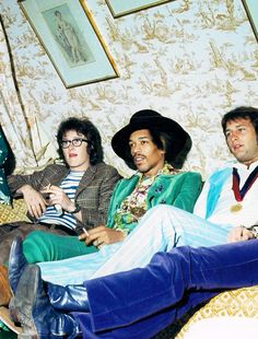 Who can wear a sea green crushed velvet suit? Jimi Hendrix, clearly.