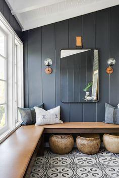 Vestibule, Home Decor Trends, Home Decor Styles, Decor Ideas, Farmhouse Side Table, Farmhouse Style, Modern Farmhouse, Cute Dorm Rooms, Diy Home