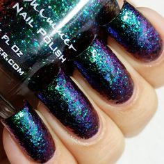 KBShimmer Nail Polish in Look on the Nightside Swatch
