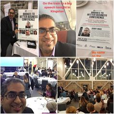 Highlights from my Keynote at @KingstonEcDev. A great trip! #ygk #entrepreneur @NSB_Speakers  Loved taking the train across the beautiful Ontario landscape. We had a gorgeous location on the water with the brick and large windows. The catering was chic and classy. In my talk I shared my struggles as a #smallbiz owner the importance of Connection thought leadership and personal branding. Finally I was honoured to get so many questions follow-ups requests for my slides and my time along with…