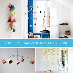 Lets Hang Out: 14 DIY Ideas that Hang from Ceiling - Curbly Recent Posts