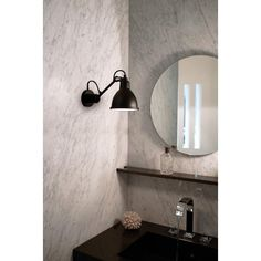 Buy online N° 304 bathroom By dcw éditions, adjustable wall light for bathroom design Bernard-Albin Gras, lampe gras Collection Le Corbusier, Bathroom Wall Lights, Bathroom Lighting, Light Bathroom, Wall Lamps, Ceiling Lamp, Bad Wand, 25 Beautiful Homes, Dcw Editions