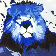 Monochromatic painting:)
