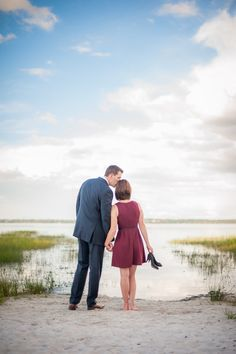 Gorgeous lake Engagement Photo By Eternal Light Photography