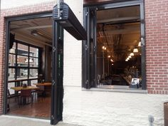 #door #foldingdoor #foldingwindow #interior #modern #ideas #architecture #restaurant #newyorkbuilders #activwall